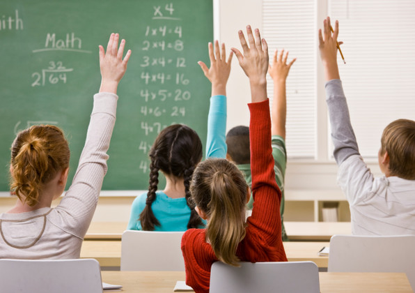 Students Answering Teacher Question